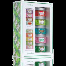 Les Verts • Coffret avec pince à thé